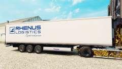 Скин Rhenus Logistics на полуприцеп-рефрижератор