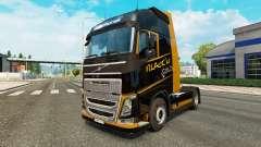 Скин Black Gold на тягач Volvo