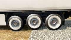 Новые колёса для полуприцепов