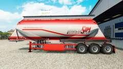 Скин TruckSim на полуприцеп-цементовоз