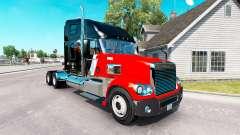 Скин CNTL на тягач Freightliner Coronado