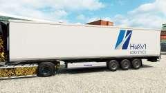 Скин HAVI Logistics на полуприцеп-рефрижератор