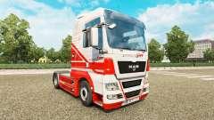 Скин TruckSim на тягач MAN