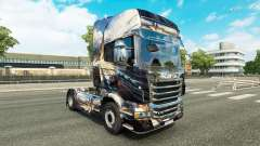 Скин на тягач Scania