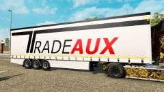 Шторный полуприцеп Krone Tradeaux