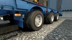 Двойные колёса для полуприцепов