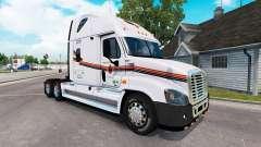 Скин METROPOLITAN на тягач Freightliner Cascadia