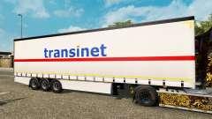 Шторный полуприцеп Krone TransiNet