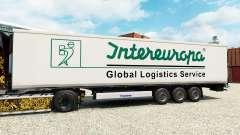 Скин Intereuropa на полуприцеп-рефрижератор
