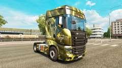 Скины Energy Drinks на тягач Scania R700