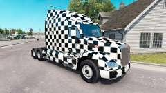 Скин Checkered на тягач Peterbilt