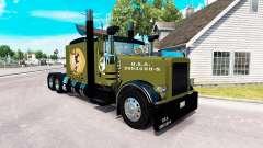 Скин WW2 Style на тягач Peterbilt 389