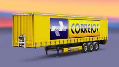 Скин Correios Logistic на полуприцепы