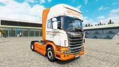 Скин Excellence Transportes на тягач Scania