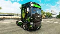 Скин Monster на тягач Scania R700