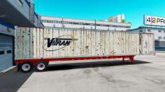 Полуприцеп контейнеровоз Vitran