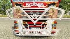 Кенгурятник Viking на тягач Scania
