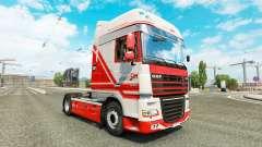 Скин TruckSim на тягач DAF