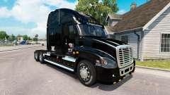 Скин KTS на тягач Freightliner Cascadia