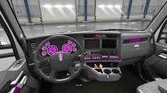 Интерьер Pink Dial для Kenworth T680