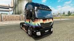 Скин Rainbow Dash на тягач Iveco