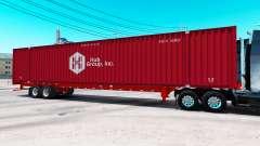 Полуприцеп контейнеровоз Hub Group Inc