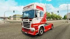 Скин TruckSim на тягач Scania