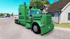 Скин A. J. Lopez Trucking на тягач Peterbilt 389