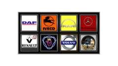Логотипы реальных компаний