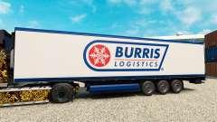 Скин Burris Logistics на полуприцеп-рефрижератор