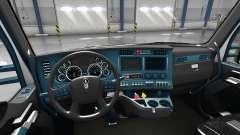 Интерьер Blue Dial для Kenworth T680