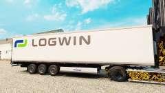 Скин Logwin Logistics на полуприцеп-рефрижератор