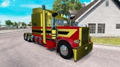 Скин Metallic 7 на тягач Peterbilt 389