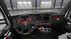 Интерьер Red Dial для Kenworth T680