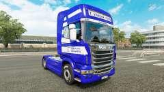 Скин T. van der Vijver на тягач Scania