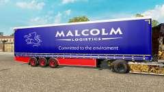Шторный полуприцеп Krone Malcolm