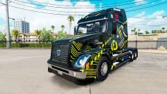 Скин Monster Energy на тягач Volvo VNL 670
