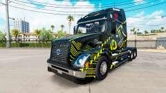 Скин Monster Energy на тягач Volvo VNL 670