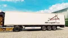 Скин ABC-Logistic на полуприцеп-рефрижератор