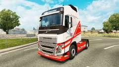 Скин TruckSim на тягач Volvo