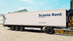 Скин Scania Rent на полуприцеп-рефрижератор