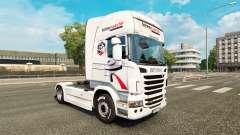 Скин Intermarche на тягач Scania