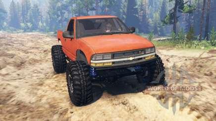 Chevrolet S-10 Crawler для Spin Tires