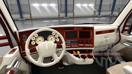 Интерьер Retro Dial для Kenworth T680 для American Truck Simulator