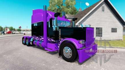 Скин Race Inspired на тягач Peterbilt 389 для American Truck Simulator
