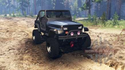 Jeep YJ 1987 для Spin Tires