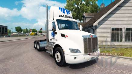 Скин Nabors на тягач Peterbilt для American Truck Simulator