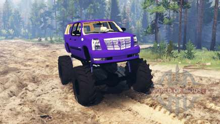 Cadillac Escalade ESV для Spin Tires