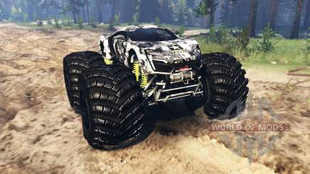 Lykan HyperSport [monster truck] для Spin Tires