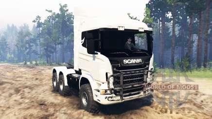 Scania R730 для Spin Tires